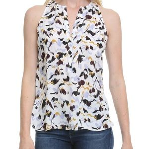NWT A.L.C. Lennox Top in Lilac/Multi, Size 6